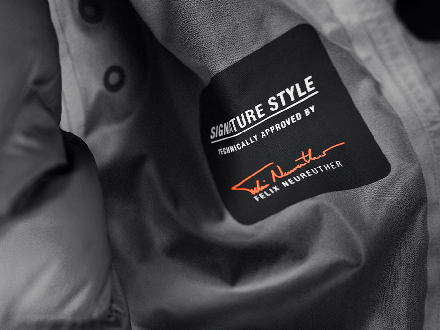 Label des Signature Style von Felix Neureuther