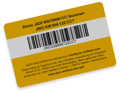 JWS Card back view