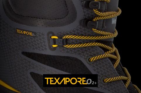 Bewährtes Texapore O2+ Material banner