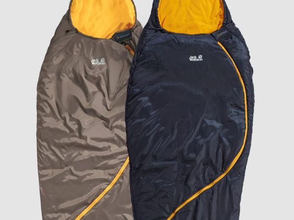 Nahaufnahme Schlafsäcke